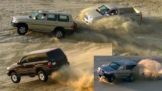 تطعيس في العديد 13/11/2015  - Dune Bashing in Qatar