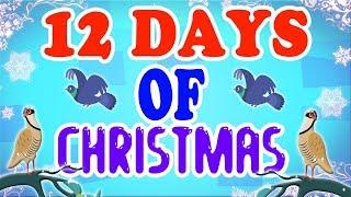 Zwölf Tage von Weihnachten | Weihnachtslied | Urlaubslied | Merry Xmas | Twelve Days Of Christmas