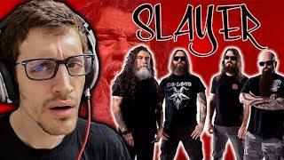 "Hip-Hop Head's FIRST TIME Hearing SLAYER: ""Raining Blood"" REACTION"