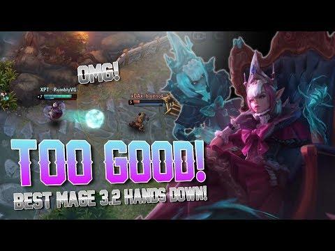 MALENE IS TOO GOOD!! Vainglory 5v5 Gameplay - Malene  CP  Mid lane Gameplay