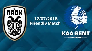 PAOK v Gent - Friendly Match - FIFA 18
