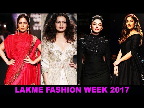 Xxx Mp4 Illeana Dcruz Bhumi Pednekar Kiara Advani At Lakme Fashion Week 2017 3gp Sex