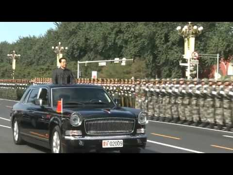 watch 01 President HU Jintao Reviews Chinese Troops [China's National Day, Chinese Military Parade 2009]