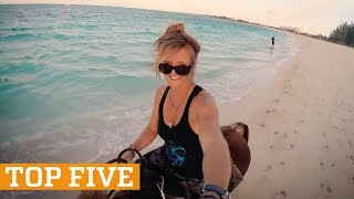 TOP FIVE: Freerunning, Fitness & Horse Surfing | PEOPLE ARE AWESOME 2017