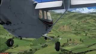 C337 landing at Baglung - Nepal - FSX