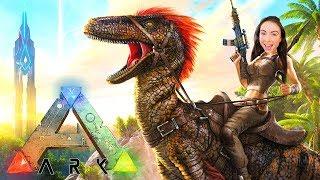 ARK: SURVIVAL EVOLVED - DINOSAUR ISLAND w/ MY BOYFRIEND!!