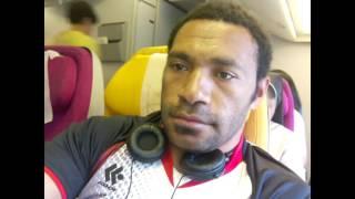 PNG  SONG ...Jix ambe, morobe feeling , mox ambe jix ambe..( Manila rugby 10s  2016 rugby Tour)
