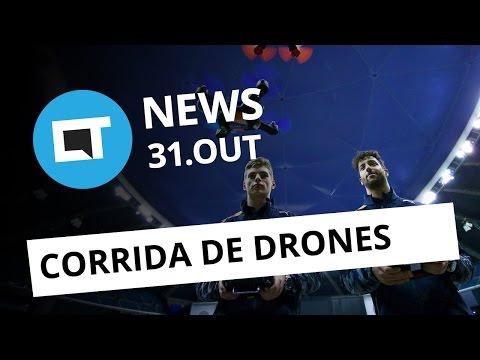 Corrida de drones em SP, volta do MegaDrive, campeonato de Counter Strike e + [CT News]