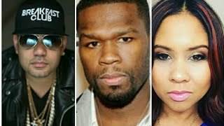 50 cent Reacts to DJ Envy And Angela Yee Telling the world He Got 60 Mill on Effen Vodka Deal
