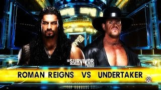 Roman Reigns vs Undertaker [WWE 2K16]