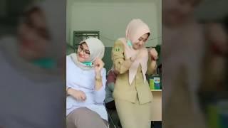 Tik Tok  Terbaru 5 video lucu perawat Cantik yang bikin kocak part 1