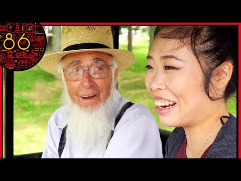 Chinese Girl Visits Amish Country She Was Shocked