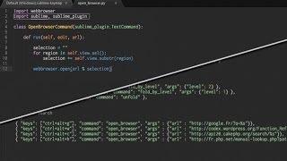 Tutoriel Sublime Text : Créer un plugin sur Sublime Text 2