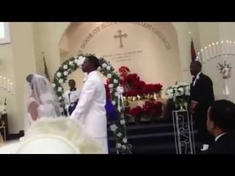 Pastor Johnny Brown Wedding praise break