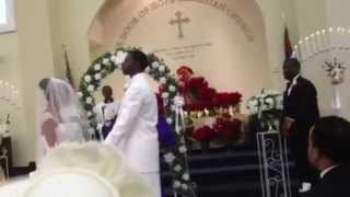 Pastor Johnny Brown Wedding praise break !!!!!!!