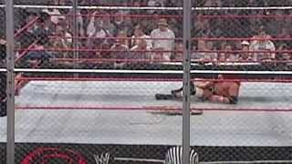 WWE Vengeance 2005 Batista vs Triple H Hell in a Cell Match
