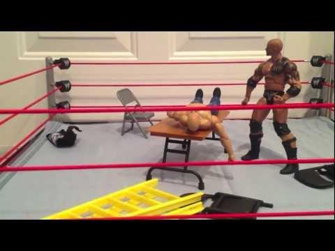 The Rock vs. Stone Cold Steve Austin Short TLC Match