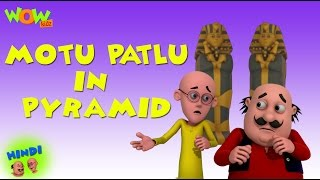 Motu patlu in Pyramid - Motu Patlu in Hindi