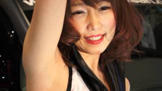 キャンギャルのパンチラというかモロ撮ろうとしてる?名古屋オートトレンド2014