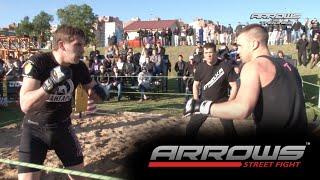 ARROWS Muay Thai vs MMA fighter