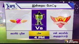 IPL 2017, Today's Match: RPS Vs SRH and DD Vs MI