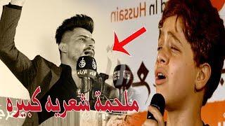 احمد عاشور يفاجئ الجمهور مرة اخرى بملحمة شعريه كبيره مع الموهبة الكبيرة حسوني الطالقاني مهرجان بغداد