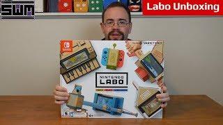 Labo Variety Kit Unboxing | Cardboard Inside Cardboard