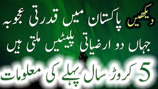 Pakistan Mein Qudrati Ajooba Jahan 2 Arziyati Platain Milti Hain