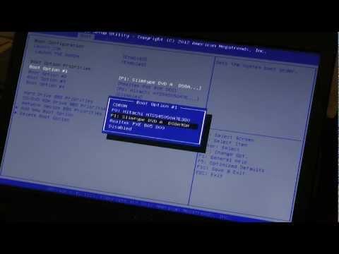 как вернуть заводские настройки компьютеру asus x501a если он не запускается