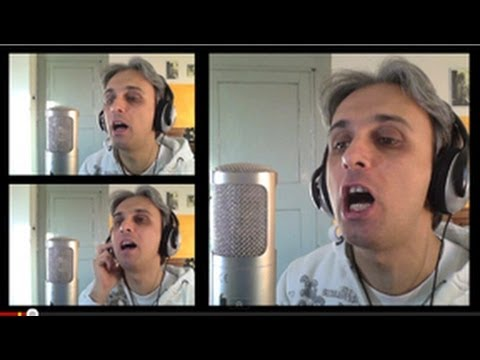 How to Sing You Won t See Me Vocal Harmony Tutorial Beatles Harmonies