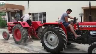Toochan Mahindra 575 DI Vs. Massey Ferguson 241 DI