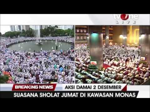 Do'a Qunut Nazilah untuk Indonesia pada Sholat Jumat 212