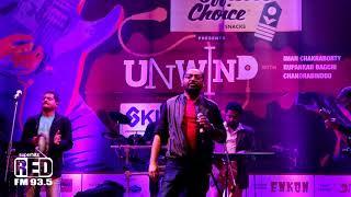 Chandrabindoo, Iman Chakroborty and Rupankar Bagchi performing at Red LIVE UNWIND.