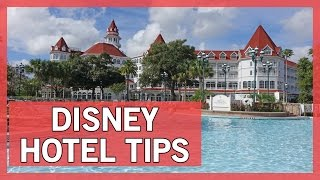 Make the Most of Your Disney Hotel Stay