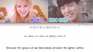 Wendy [Red Velvet] (웬디) & Eric Nam (에릭남) - Spring Love (봄인가 봐) [Color Coded/Eng/Han/Rom]