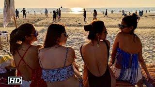 Malaika Arora and Amrita Arora holiday in Goa
