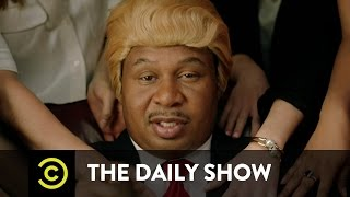 """""""They Love Me"""" Music Video - Black Trump (ft. Jordan Klepper): The Daily Show"""
