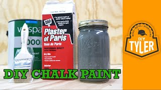 How to Make Chalk Paint  032