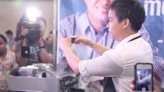 SEC JOEL BARISTA DEMO at 2014 LABOR DAY Job Fair MANILA PHILIPPINES