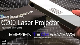 World's Smallest Laser Mini Projector | Laser Beam Pro C200 | Android