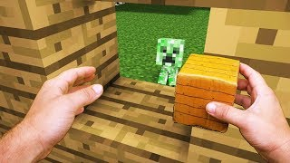 Realistic Minecraft Life: Creeper Kid - Minecraft Animation