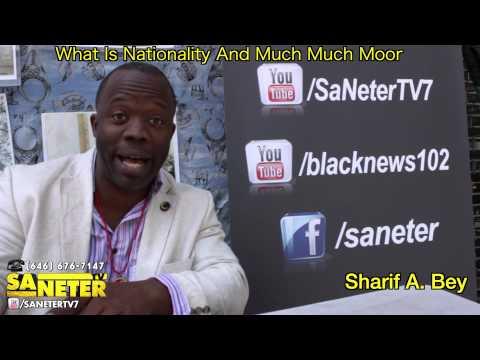 Sharif A  Bey A Lilttle History On The Moorish Teaching