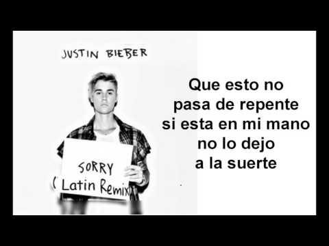Justin Bieber - Sorry Latino Remix /  ft. J Balvin Español s