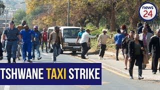 'The stopped the driver and took us out of the car'- Commuter shares on the Tshwane taxi strike