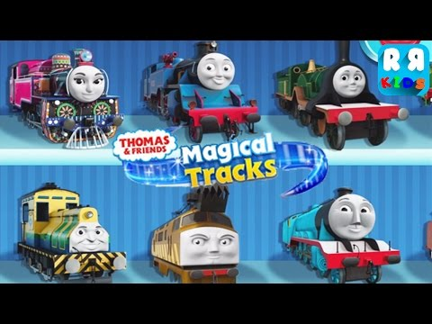 Thomas and Friends Magical Tracks Kids Train Set By Budge Studios Unlock All Train
