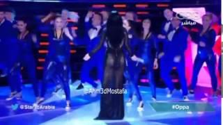 هيفاء وهبي تظهر طيزها المثير بفستان عاري في البرايم العاشر من ستار اكاديمي Haifa wehbe