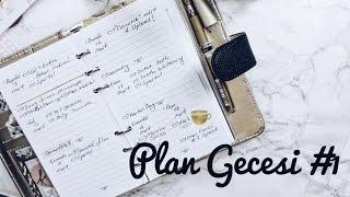 Plan Gecesi #1 | Benimle Planlayın