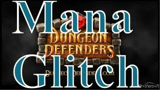 How to do the mana glitch on dungeon defenders console (HD Quality)