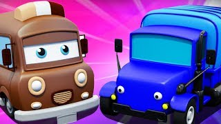 Cars And Trucks Assembly | Learn Colors With Cars by Kids Channel