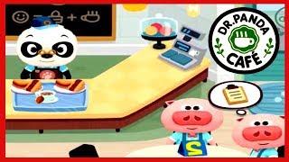 Dr Panda Cafe | Educational iPad app for Kids | Dr Panda Full Game Play #DrPanda